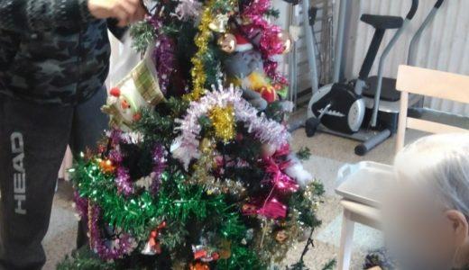 クリスマスツリーが完成しました!